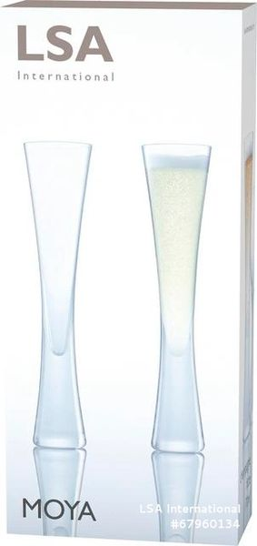 LSA Moya Champagne Flute Pair 170ml