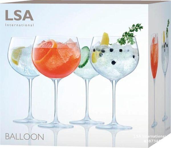 LSA Balloon Gin Balloon Glass x 4 680ml