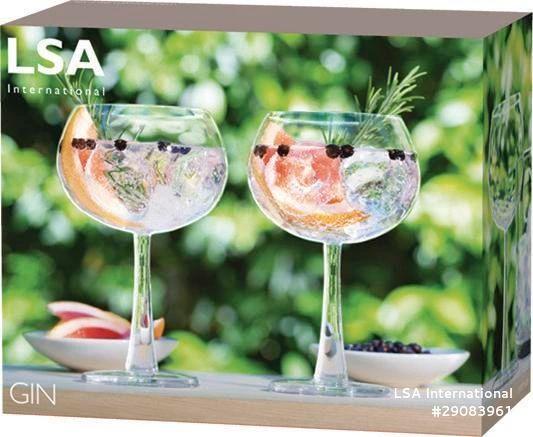LSA Gin Balloon Glass Pair 420ml