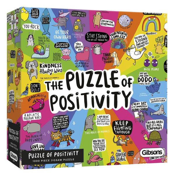 The Puzzle of Positivity 1000pcs