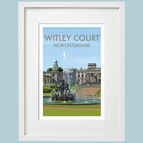 Witley Court - Worcestershire - Framed Art Print