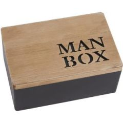 Wooden Man Box