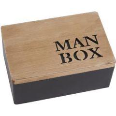Wooden Man Box