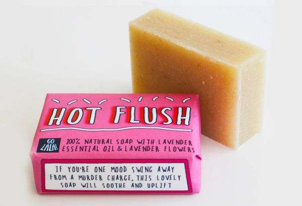 Hot Flush - Lavender Soap bar