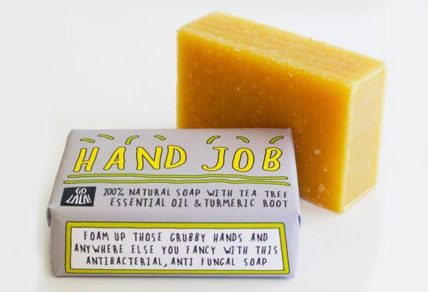 Hand Job - Tea Tree & Tumeric Soap Bar