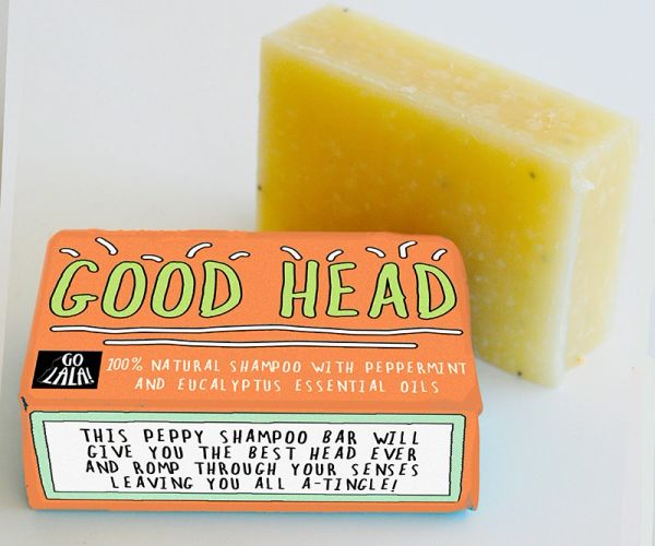 Good Head - Peppermint & Eucalyptus SHAMPOO BAR