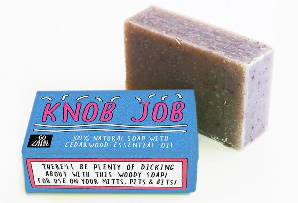 Knob Job - Cedarwood Soap Bar