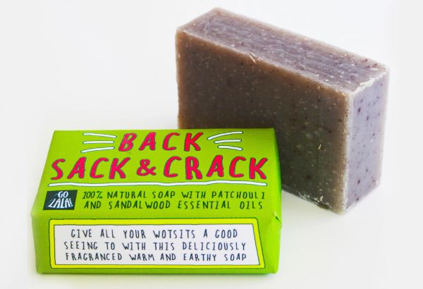 Back, Sack & Crack - Patchoui & Sandalwood - Soap Bar