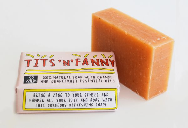 Tits 'n' Fanny - Orange & Grapefruit - Soap Bar