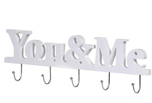 You and Me Sign with Hooks
