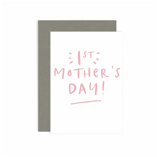 First Mother's Day Card SKU: B120