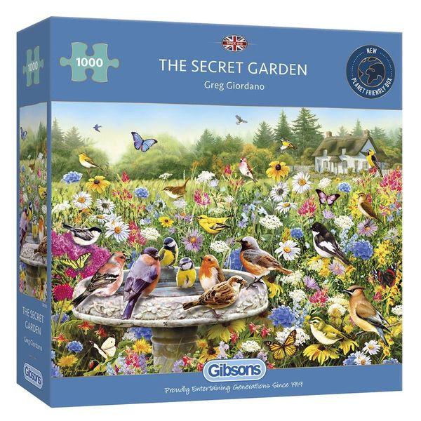 The Secret Garden 1000pc Puzzle