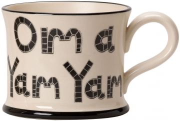 Om a Yam Yam by Moorland Pottery