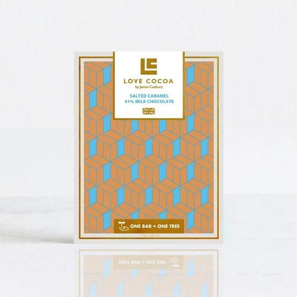 SALTED CARAMEL 41% MILK CHOCOLATE BAR