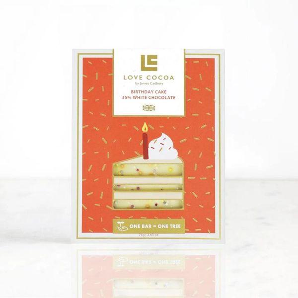 BIRTHDAY CAKE 35% WHITE CHOCOLATE BAR