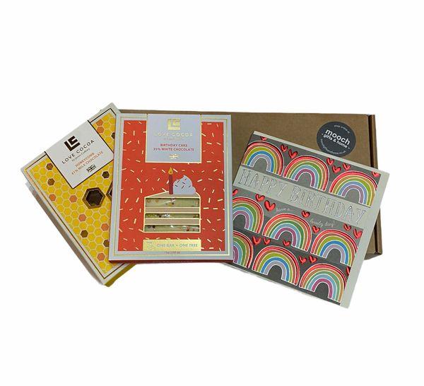 Double Choc Birthday Letterbox