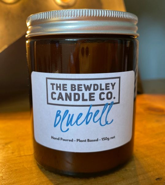 Bluebell Candle 150g net