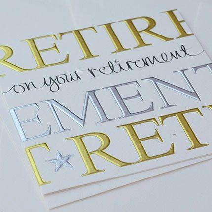 Retirement Font Q521
