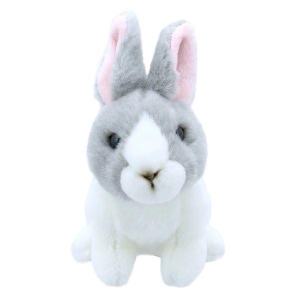Rabbit - Grey & White - Wilberry Mini's