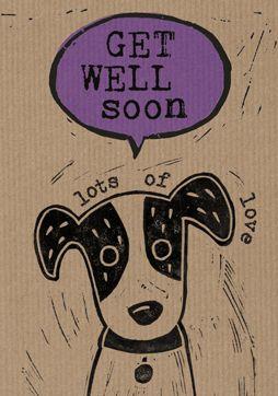 Get Well Soon lino08