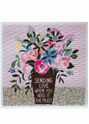 Sending you love Card jj1820