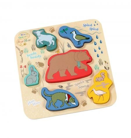 We're Going On a Bear Hunt Wooden Shape Puzzle