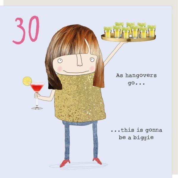 Girl 30 Hangover GFA006