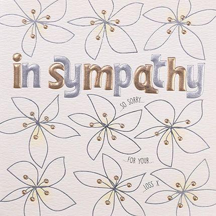 Sympathy Card Q1276