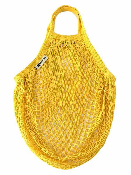 Organic Short Handled String Bag - Sunflower