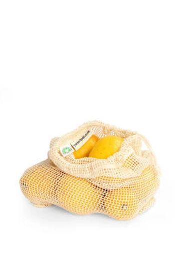 Medium Organic Net Grocery Bag