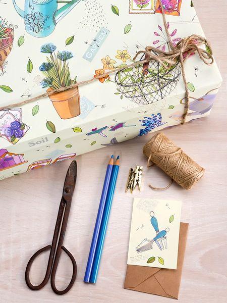 Gardening Gift Wrap