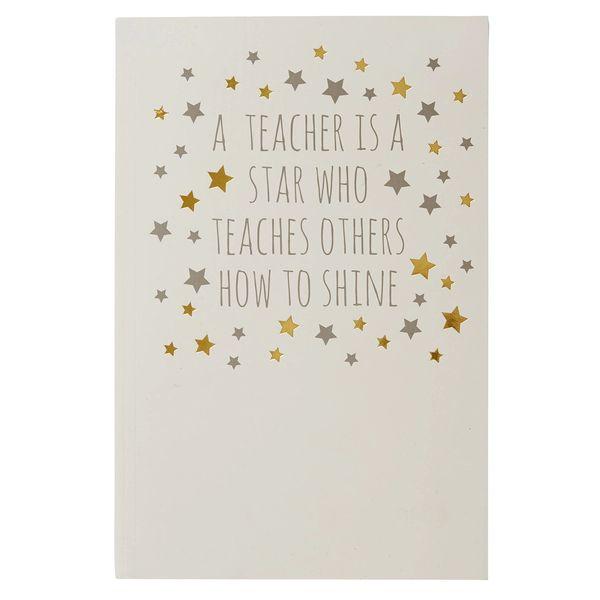"""Teacher notepad """"A Teacher is a star...."""""""