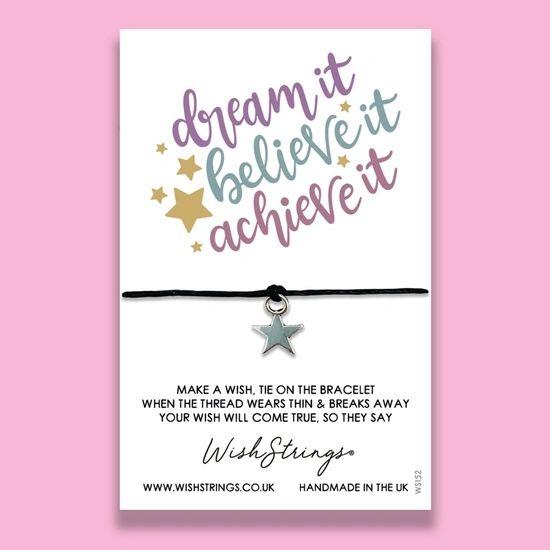 Dream, Believe, Achieve - WishStrings