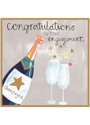 CT1721 CONGRATULATIONS ON YOUR ENGAGEMENT