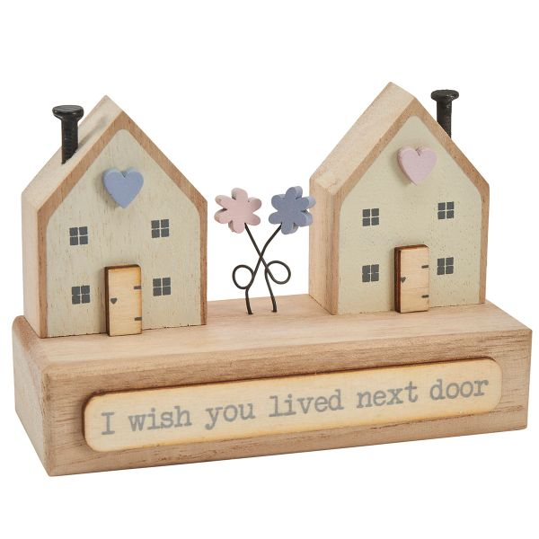 """ I wish I LIved Next Door "" Wooden House"