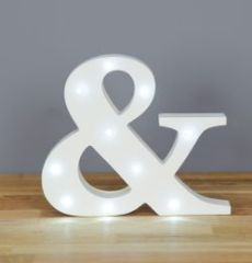 UP IN LIGHTS AMPERSAND