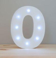 LIGHT UP NUMBER – 0