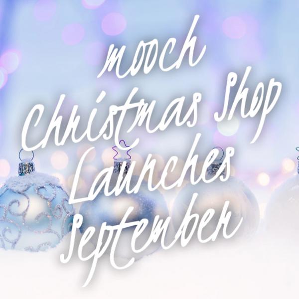 mooch CHRISTMAS shop 2021 Launching September