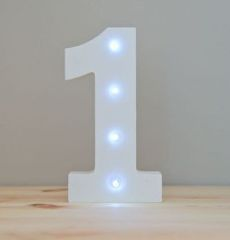 LIGHT UP NUMBER – 1