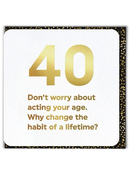 40 Don't Worry QU038