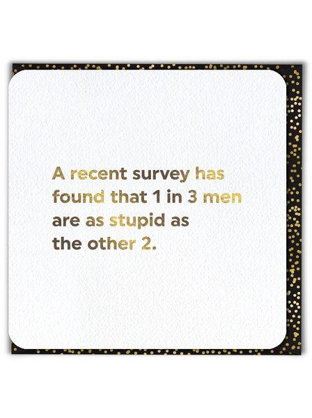 A recent survey... qu007