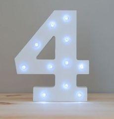 LIGHT UP NUMBER – 4