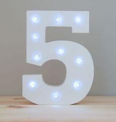 LIGHT UP NUMBER – 5