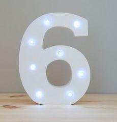 LIGHT UP NUMBER – 6