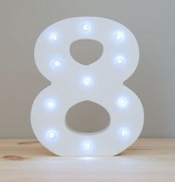 LIGHT UP NUMBER – 8