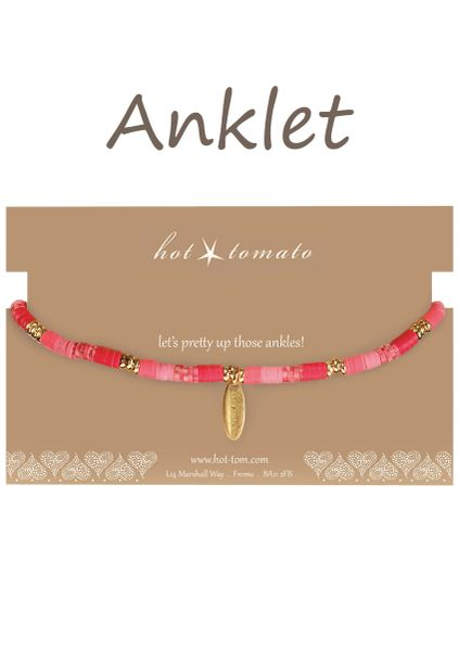 ANKLET - Poly Clay Fade - Choose colour