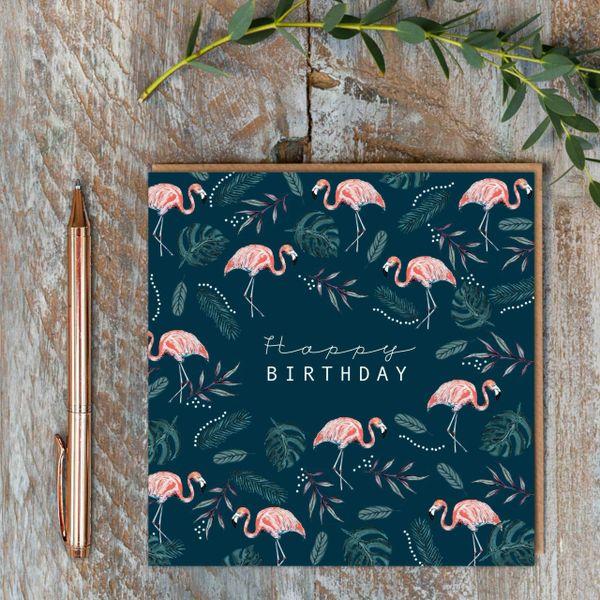 Happy Birthday Flamingos AW08