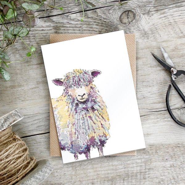 Sheep Card tcnd11
