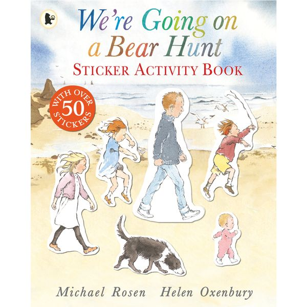We're Going on a Bear Hunt Sticker Activity