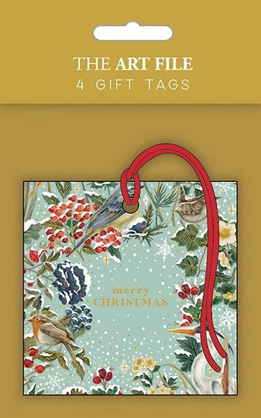FROSTED RIVER GIFT TAGS TAGX17